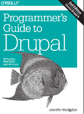 Book cover of Programmer's Guide to Drupal